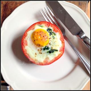 Egged tomato 2