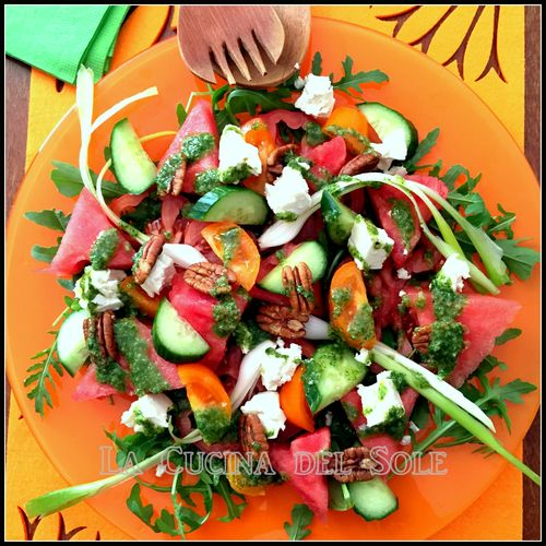 Watermelon salad 1