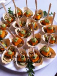 Barchette di zucca e zucchine