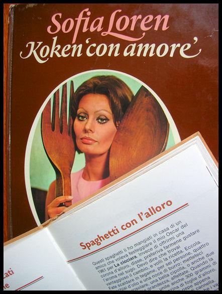 La Cucina del Sole: Recept van Sofia Loren: spaghetti met laurier